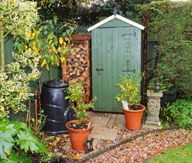 Garden Composter Garden compost is the ultimate recycled product